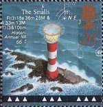Lighthouses 26p Stamp (1998) Smalls Lighthouse, Pembrokeshire