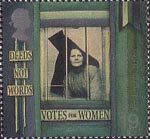 Citizens Tale 19p Stamp (1999) Suffragette behind Prison Window ('Equal Rights for Women')