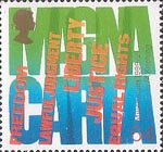 Citizens Tale 64p Stamp (1999) 'MAGNA CARTA' (Human Rights)