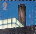 Millennium Projects (5th Series). 'Art and Craft' 1st Stamp (2000) Bankside Galleries (Tate Modern, London)