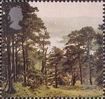 Millennium Projects (8th Series). 'Tree and Leaf' 65p Stamp (2000) Forest, Doire Dach ('Forest for Scotland')
