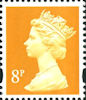 Definitive 8p Stamp (2000) Yellow
