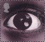 Millennium Projects (12th Series). 'Sound and Vision' 1st Stamp (2000) Eye (Year of the Artist)