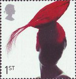 Fabulous Hats 1st Stamp (2001) Toque Hat by Pip Hackett