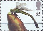 Europa. Pond Life 65p Stamp (2001) Southern Hawker Dragonfly