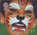 Hopes for the Future 1st Stamp (2001) 'Tiger' - Listen to Children