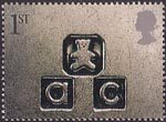 Occasions 2001 1st Stamp (2001) abc (New Baby)