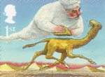 Rudyard Kiplings Just So Stories 1st Stamp (2002) How the Camel got his Hump