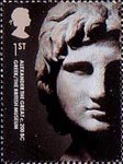 British Museum 1st Stamp (2003) Alexander the Great, Greek c. 200BC