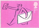 Occasions 2004 1st Stamp (2004) Postman
