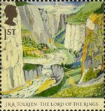 The Lord of the Rings 1st Stamp (2004) Rivendell