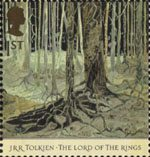 The Lord of the Rings 1st Stamp (2004) Fangorn Forest