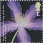 Bicentenary of the Royal Horticultural Society (1st issue) E Stamp (2004) Clematis 'Arabella'