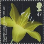 Bicentenary of the Royal Horticultural Society (1st issue) 47p Stamp (2004) Lilium 'Lemon Pixie'