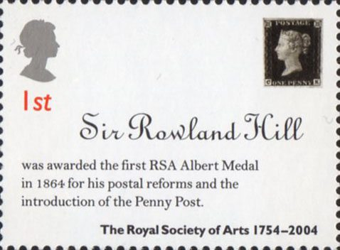 Great Britain Stamps Royal Mail Mint Stamps Set The Royal Society For The Encouragment