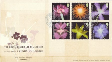 Bicentenary of the Royal Horticultural Society (1st issue) (2004)