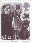 Jane Eyre by Charlotte Bronte £1.12 Stamp (2005) Inspection