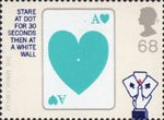 Magic 68p Stamp (2005) Card Trick