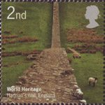 World Heritage Sites 2nd Stamp (2005) Hadrian's Wall, England