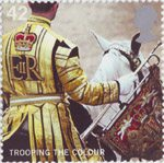 Trooping the Colour 42p Stamp (2005) Trumpeter of the Household Cavalry, 2004