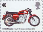 Motorcycles 40p Stamp (2005) BSA Rocket 3, Early Three Cylinder 'Superbike' (1969)