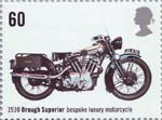 Motorcycles 60p Stamp (2005) Brough Superior, Bespoke Luxury Motorcycle (1930)