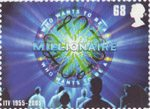 Classic ITV 68p Stamp (2005) Who Wants to be a Millionaire