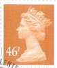 Definitive 46p Stamp (2005) Yellow