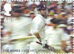 England's Ashes Victory 68p Stamp (2005) Third Test, Old Trafford