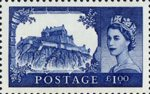The Castles Definitives £1 Stamp (2005) Edinburgh Castle