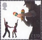 Sounds of Britain £1.19 Stamp (2006) Latin American Salsa