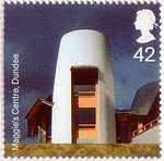 Modern Architecture 42p Stamp (2006) Maggie's Centre, Dundee