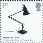 Design Classics 1st Stamp (2009) Anglepoise Lamp by George Carwardine