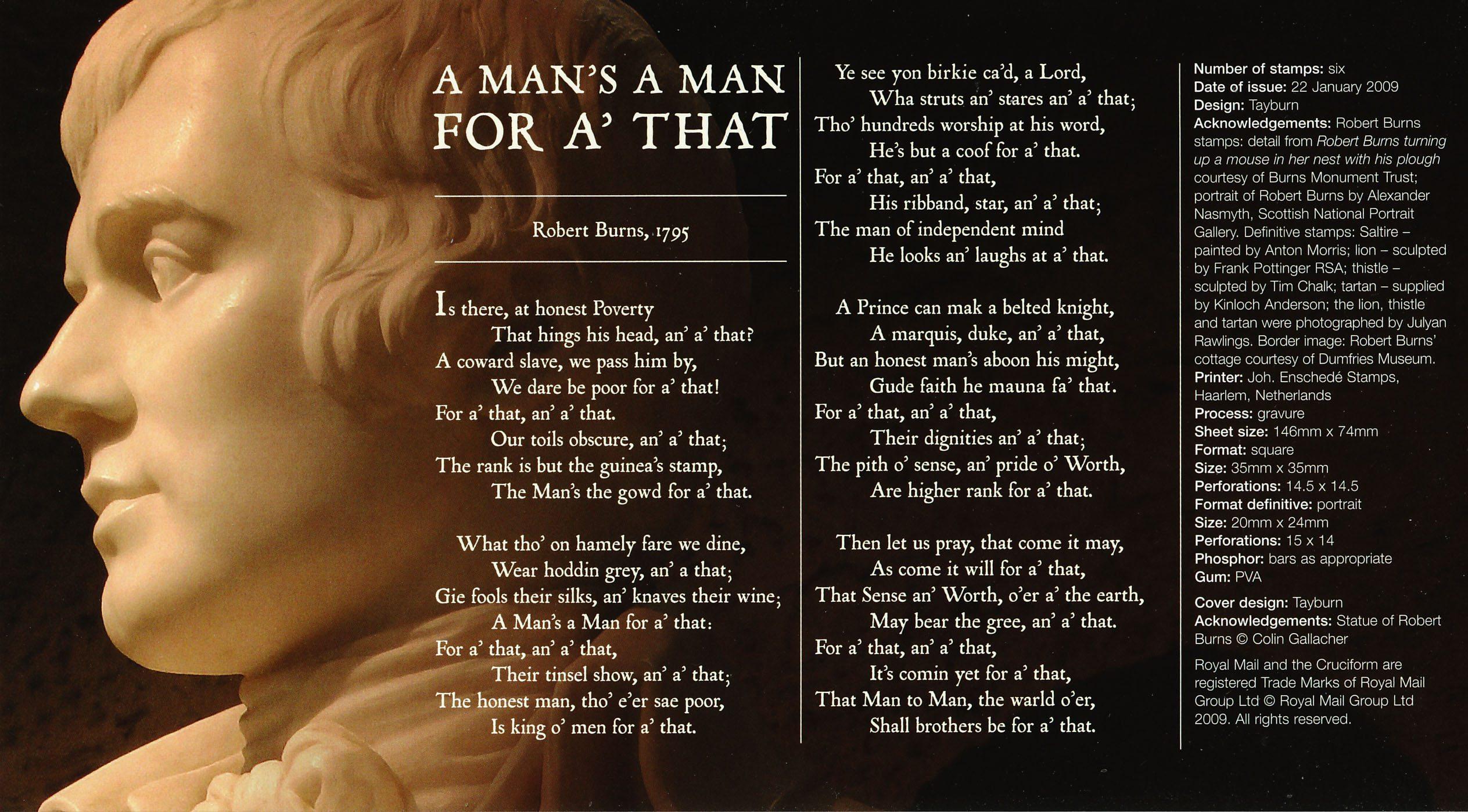 a mans a man