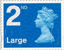 Definitives 2nd Large Stamp (2009) Second Class Large