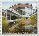 Plants - UK Species in Recovery 1st Stamp (2009) Millennium Seed Bank, Wakehurst Place