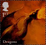 Mythical Creatures 1st Stamp (2009) Dragons