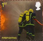 The Fire Service 1st Stamp (2009) Firefighting