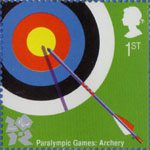 Olympic and Paralympic Games 2012 1st Stamp (2009) Paralympic Games - Archery