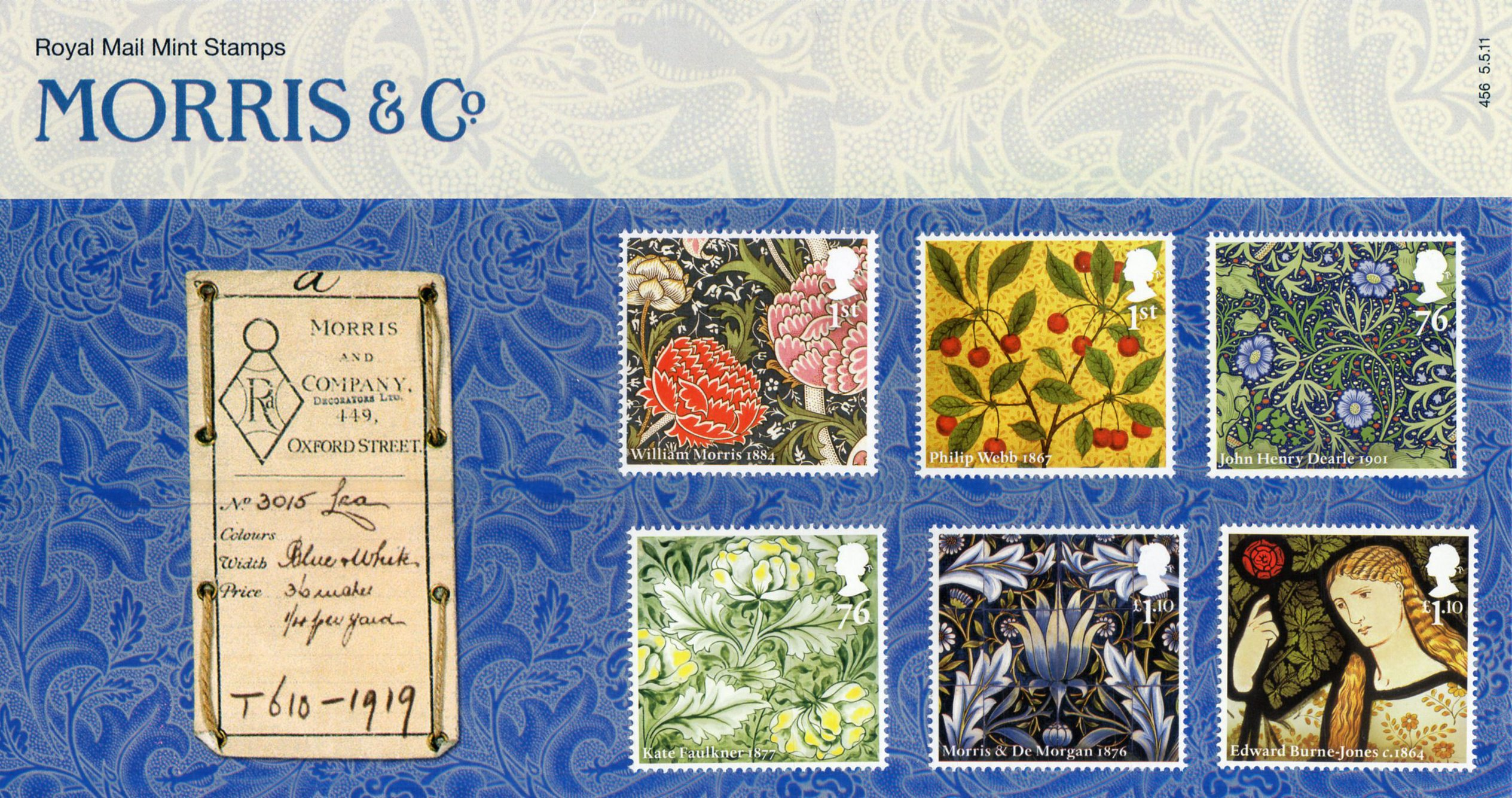 British Stamps for 2011 : Collect GB Stamps