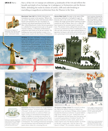 UK A-Z (Part 2) (2012) : Collect GB Stamps