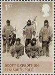 The House of Windsor 1st Stamp (2012) Scott Expedition 1912
