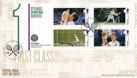 Andy Murray - Gentlemen's Singles Champion Wimbledon 2013 (2013)