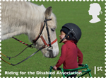 Working Horses 1st Stamp (2014) Riding for the Disabled Association