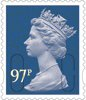 Definitives 2014 97p Stamp (2014) Purple Heather