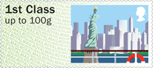 Post & Go : Sea Travel 1st Stamp (2015) New York City