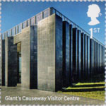 Landmark Buildings 1st Stamp (2017) Giant's Causeway Visitor Centre