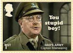 Dads Army 1st Stamp (2018) Captain Mainwaring – You Stupid Boy""