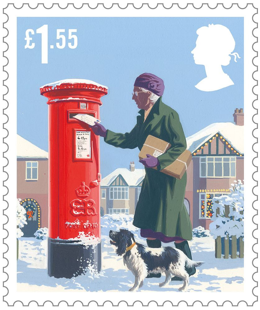 Christmas Stamps For 2019 Christmas 2018 (2018) : Collect GB Stamps