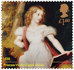 Queen Victoria Bicentenary £1.60 Stamp (2019) Queen Victoria as a young girl